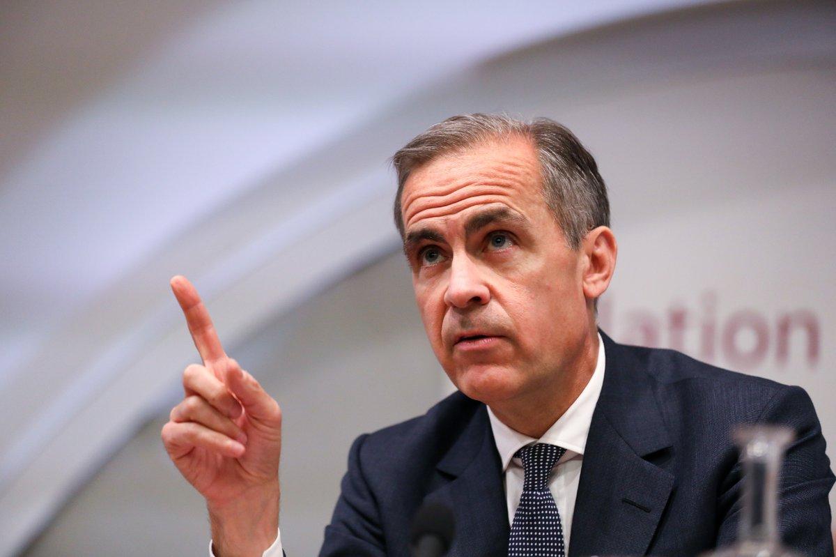 英央行卡尼:脱欧会令英镑贬值并使短期经济增长放缓