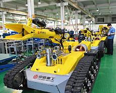 机器人制造助力经济转型升级