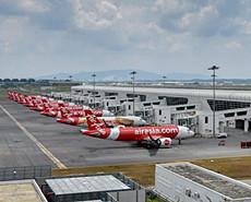 亚洲航空宣布暂停大部分航班