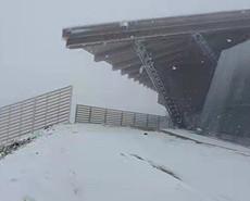 最美冬奧城 北京延慶下雪啦