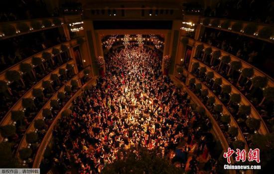 资料图:奥地利维也纳国家歌剧院。