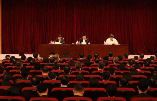 6月11日下午,交通银行党委(扩大)会议在沪召开
