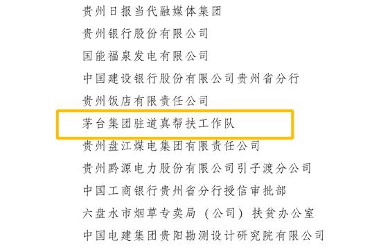 贵州省脱贫攻坚总结表彰大会表彰1000个集体1500名个人 茅台2集体3个人获表彰