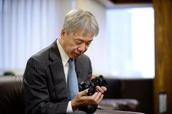 奥林巴斯总裁笹宏行。来源:视觉中国
