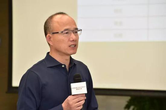 ▲郭广昌  中国企业家俱乐部理事、复星国际董事少