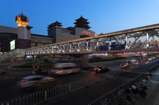 资料图:北京西站