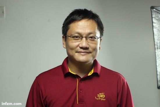 华大基因CEO尹烨。(受访者供图/图)
