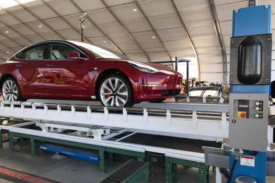 因质量问题 德国汽车租赁公司退订85辆特斯拉Model 3