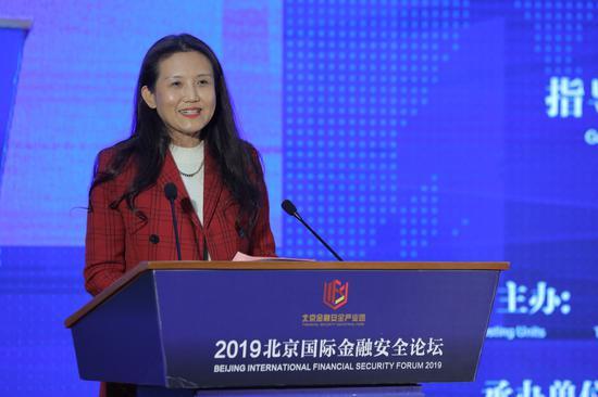 马小兰:北京金融安全产业园累计税收达到12.4亿元