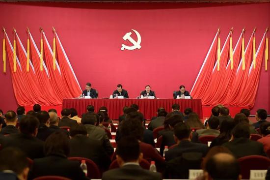 工行陈四清:坚定不移推进党风廉政建设和反腐败斗争