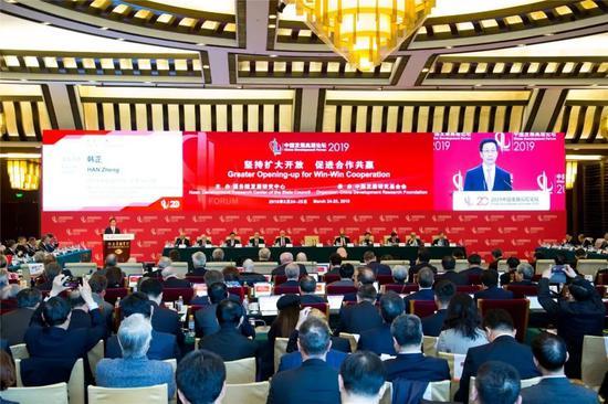 中国发展高层论坛2019年会