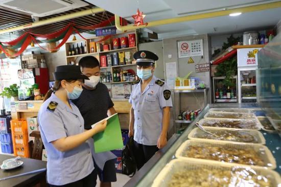 北京市场监管部门迅速响应开展食品安全大检查