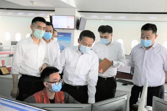 民航局副局长调研指导海航集团各航司、机场安全发展