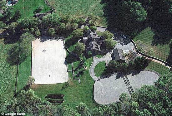 比尔・盖茨花费近1600万美元购买的马场。