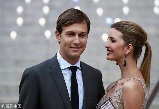 特朗普女婿库什纳和女儿伊万卡
