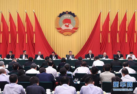 """全国政协在北京召开""""健全系统性金融风险防范体系""""专题协商会"""