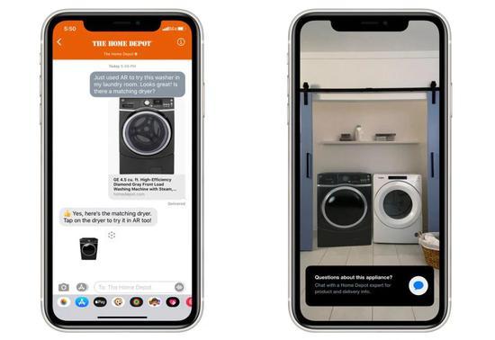 苹果扩展Quick Look 让零售商在增强现实中销售商品