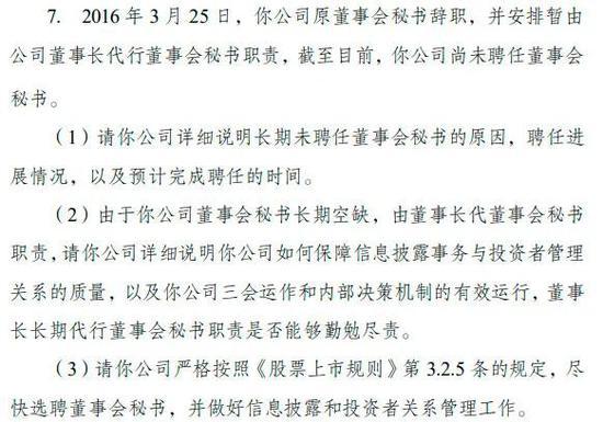 董秘呢?中国中期五年多空缺 交易所催了四遍也没用