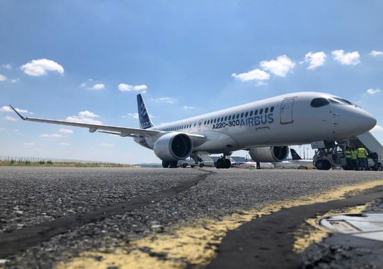 空客美国A220总装线启动