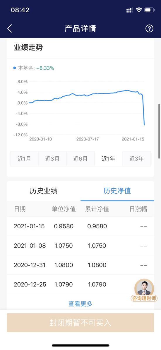 """嘉实基金陷""""净值风波"""":旗下固收专户单周下跌近11%"""
