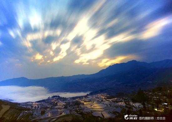 哈尼梯田美景 圖片來源:攜程旅拍