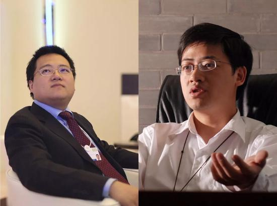 曾经的林宇(左)和史文勇(右)/ 图片购己视觉中国