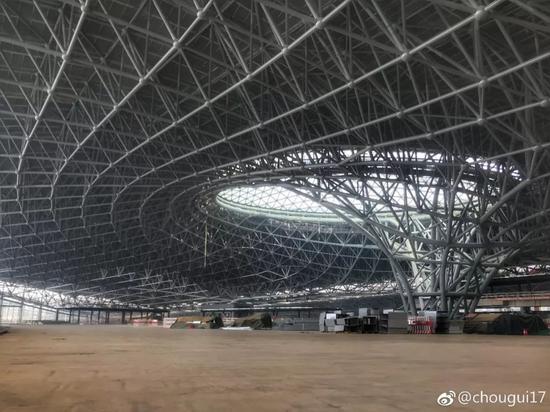 北京新机场太科幻(图):堪比外星人基地 为世界最大