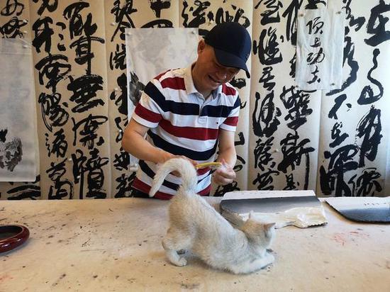 ▵2018年5月30日,北京,崔永元接受媒体采访 图/视觉中国