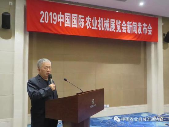 中国农业机械化协会副会长杨林