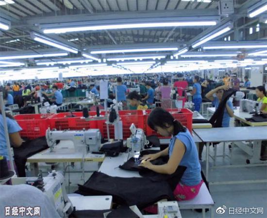 日本服装生产加速迁往东南亚 关键业务留中国