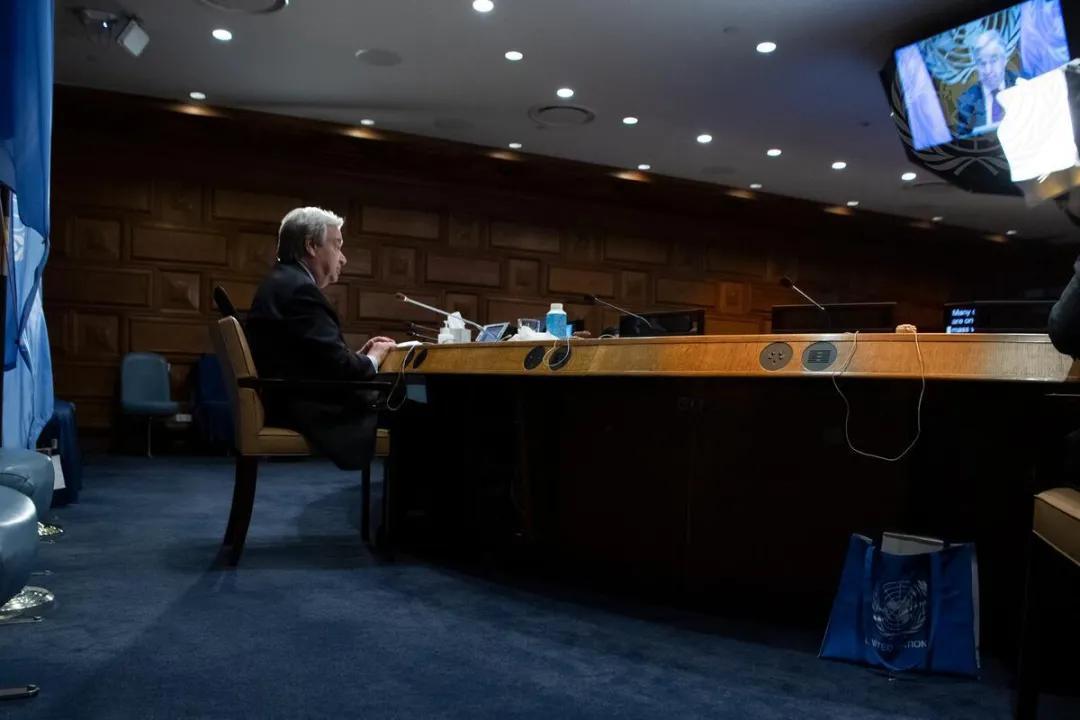 联合国秘书长古特雷斯呼吁采取行动,避免发展中国家的债务危机
