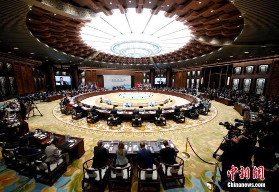 9月4日,二十国集团领导人杭州峰会开幕。 中新社记者 杜洋 摄
