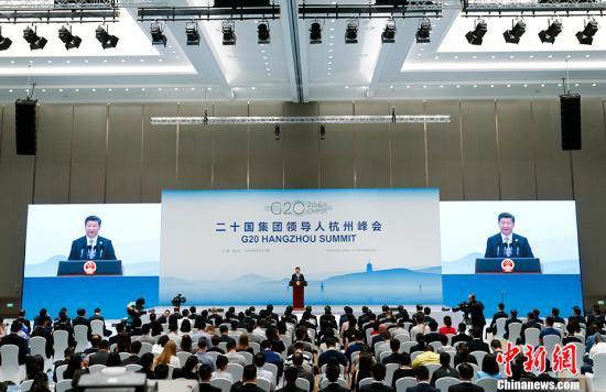 9月5日,二十国集团领导人第十一次峰会闭幕后,国家主席习近平在杭州国际博览中心会见中外记者。 #####filter1#####记者 杜洋 摄