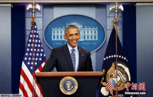 美国总统奥巴马举行任内最后一次记者会。