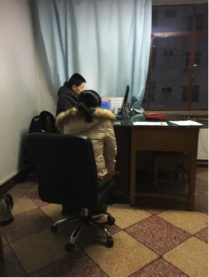 王小舒在警局报案