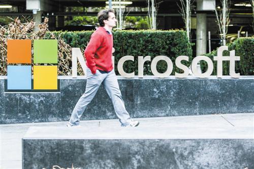 微软踏上复苏之路:市值再度超5000亿美元 微软
