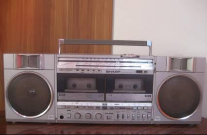 SHARP GF-500双卡录音机