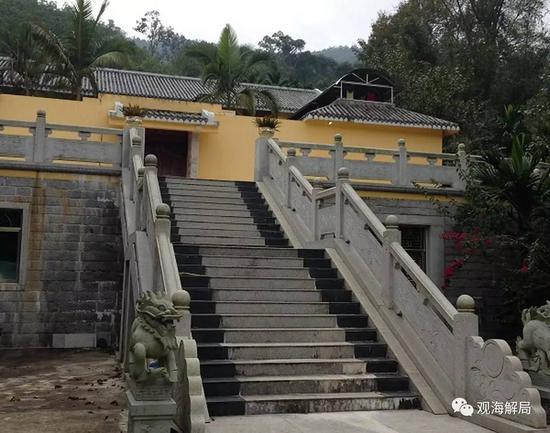 朱明国在老家的别墅