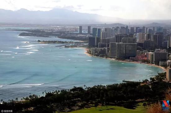 夏威夷檀香山(图片来源:视觉中国)
