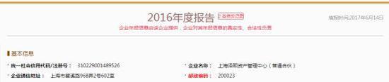 年报显示,泽熙资管对外投资的公司有一家,名称为上海泽熙增煦投资中心(有限合伙)(以下简称泽熙增煦)。