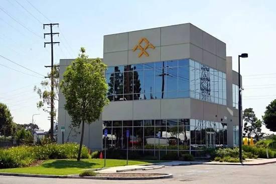 法拉第未来公司,图片由本文记者提供