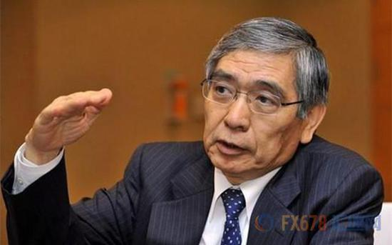 黑田东彦称日银还要坚持宽松 不会放弃2%通胀目标