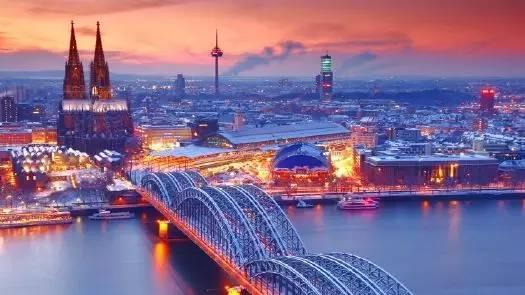 K?ln am Rhein莱茵河畔的科隆