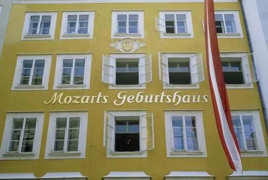Mozarthaus-Salzburg莫扎特故居