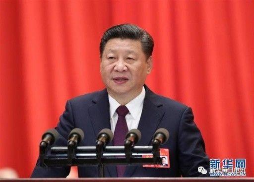 10月18日,中国共产党第十九次全国代表大会在北京人民大会堂隆重开幕。习近平代表第十八届中央委员会向大会作报告。新华社记者马占成摄
