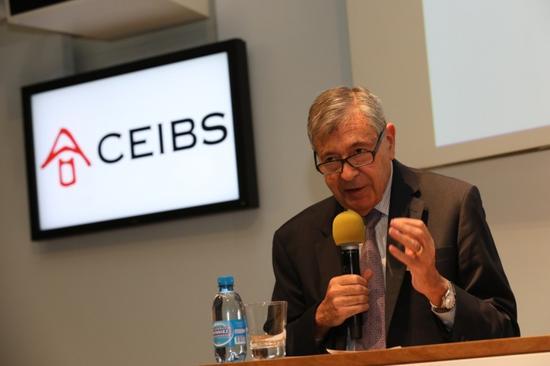 中欧国际工商学院院长佩德罗•雷诺(Pedro Nueno)教授致欢迎辞