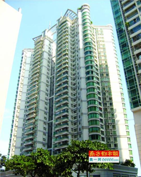 匡女士所售物业位于珠江新城马场路。资料图片