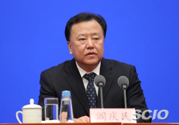 证监会副主席阎庆民(徐想 摄)