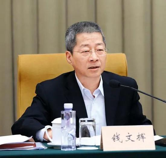 钱文挥任中国农业发展银行党委书记