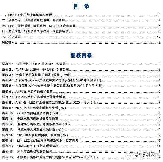 粤开策略:电子行业上半年总结及近阶段投资策略